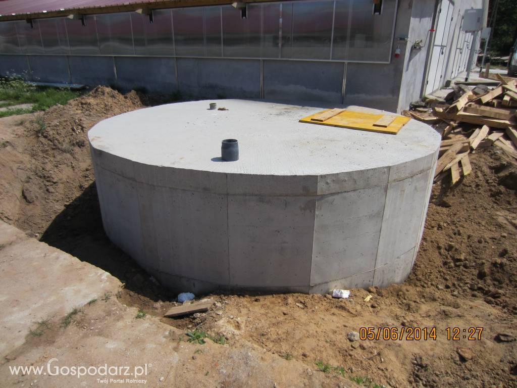 Zaawansowane Zbiorniki na gnojowicę ze stropem żelbetowym Wolf System XF86