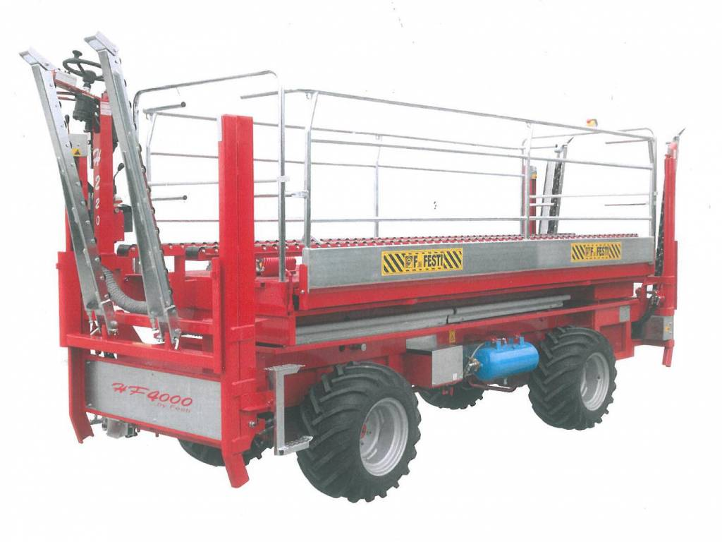 Masywnie Platforma sadownicza samojezdna 4 X 4 , długość 4 m - Nadwozia i DY28