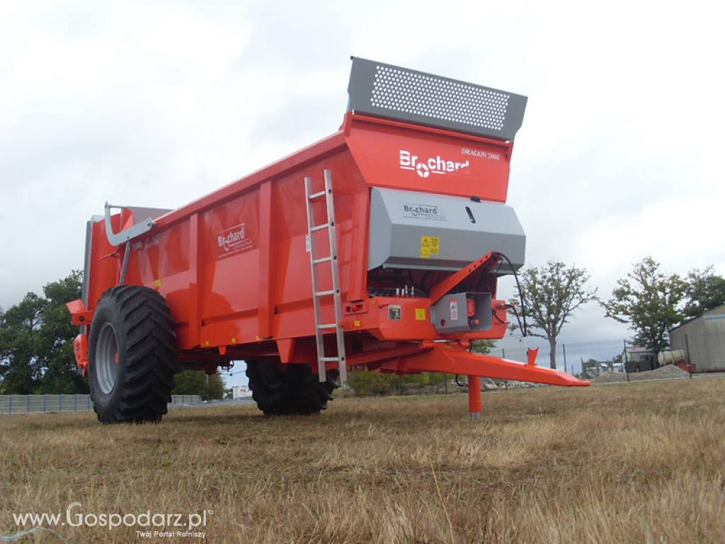 Rozrzutnik BROCHARD DRAGON 2001-65 BG 14 TON