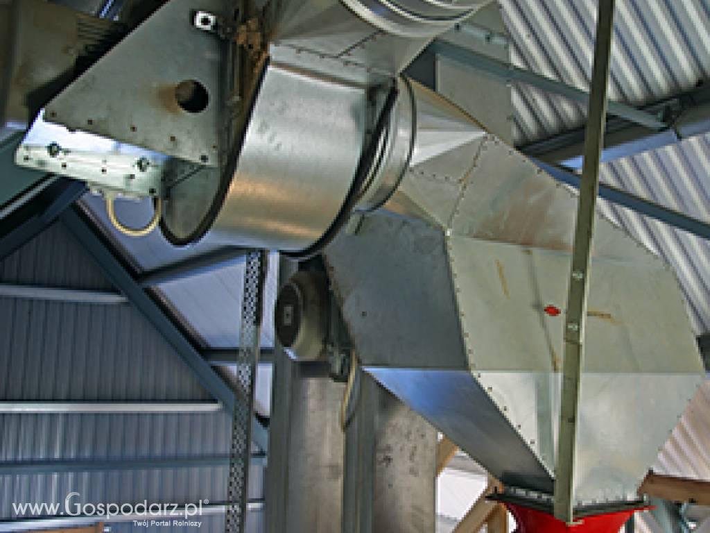 Nietypowy Okaz Czyszczarka wstępna nasion zbóż - Maszyny do zbioru ziarna EL07