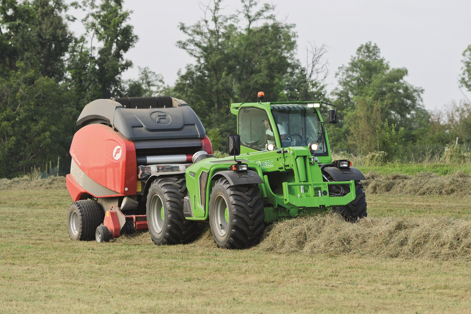 Oryginał NOWOŚĆ! MERLO MULTIFARMER z nowej serii MF 40 - Technika rolnicza AG91