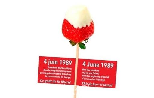 Truskawka kaszubska smakiem wolności w Brukseli