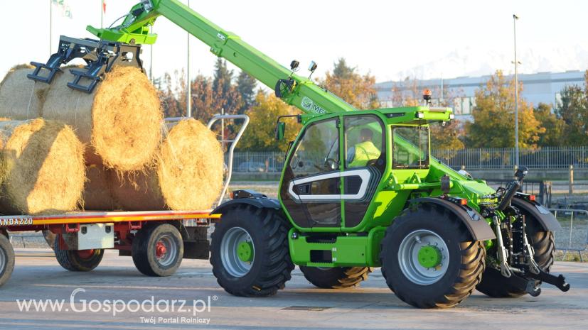 Oryginał NOWOŚĆ! MERLO MULTIFARMER z nowej serii MF 40 - Technika rolnicza OV44