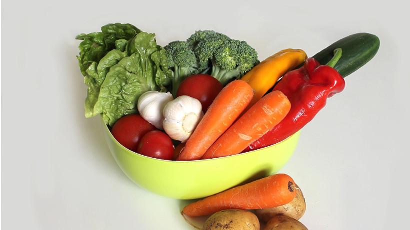 Duża podaż warzyw i grzybów